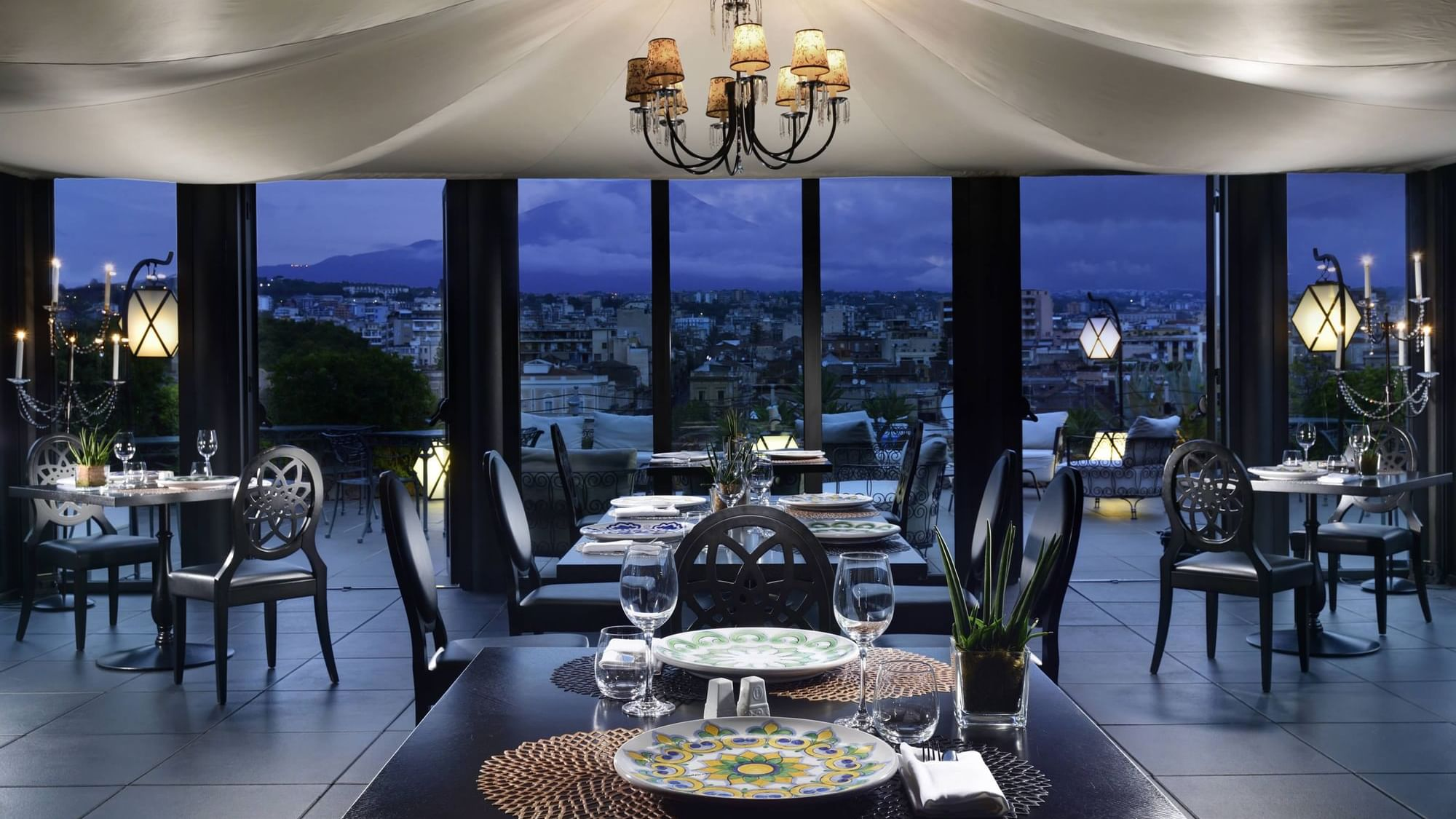 Ristorante Catania: Etnea Roof Bar & Restaurant by