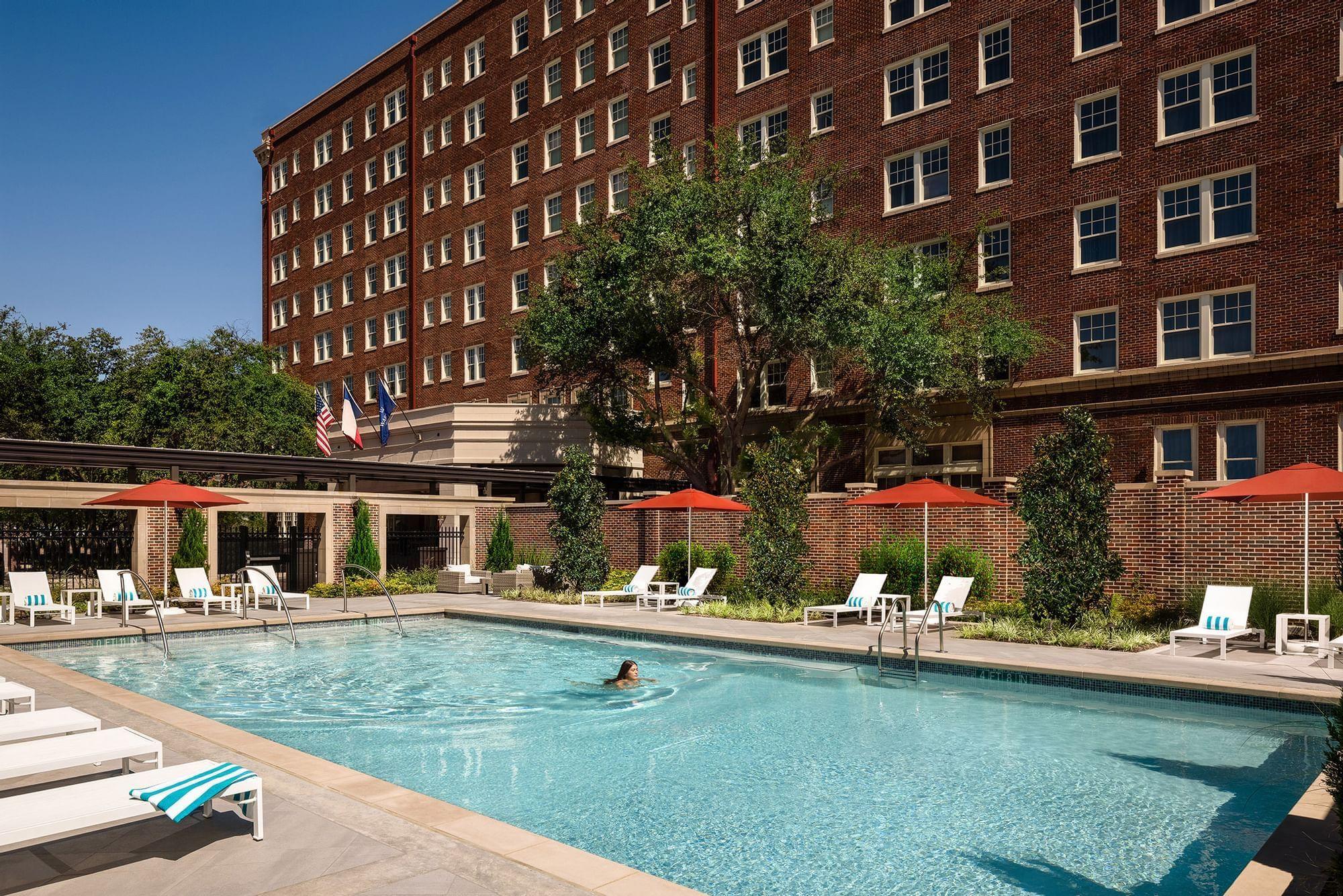 Warwick Melrose Dallas swimming pool summer