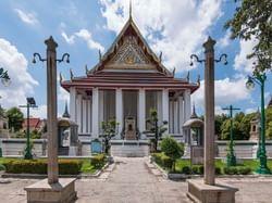 Giant Swing at Wat Suthat near Chatrium Hotel Riverside Bangkok