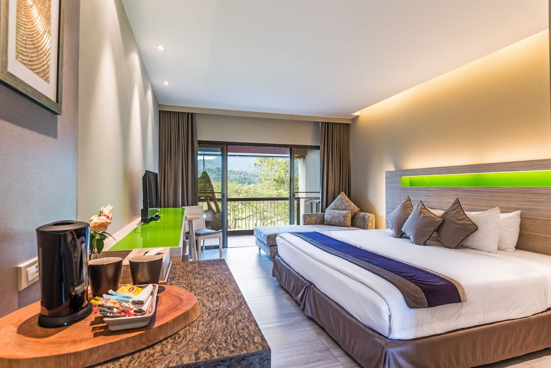 Chatrium Golf Resort Soi Dao Grand Deluxe Mountain View Room