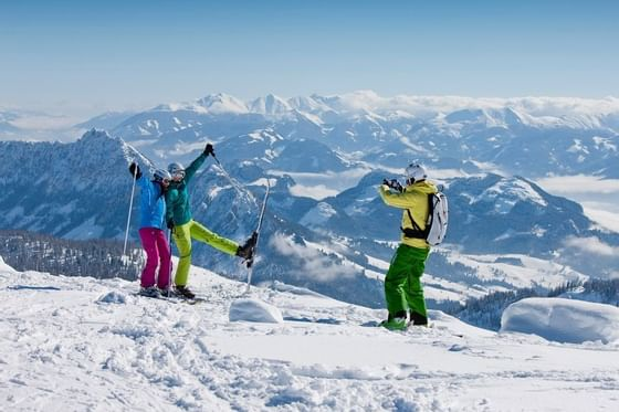 Skiing on the Tauplitz