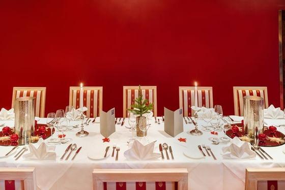Dinner at Schloss Pichlarn