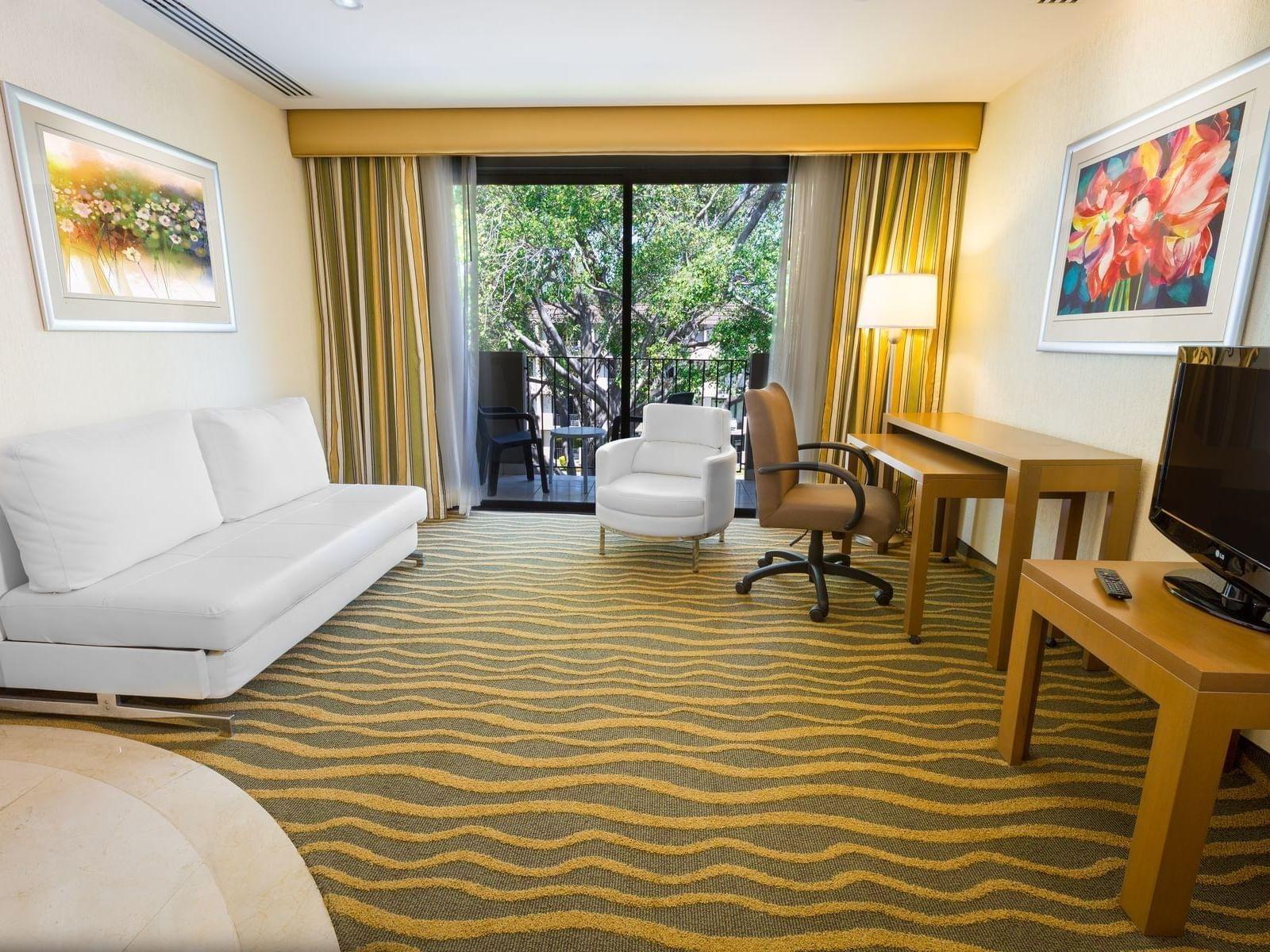 Suite with Luxury Living Room at Best Western Plus San Jose