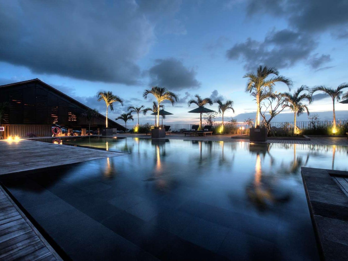 Outdoor Swimming Pool of U Paasha Seminyak Bali at U Hotels and Resorts