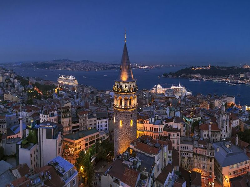 Galata Tower - eresin hotels topkapi