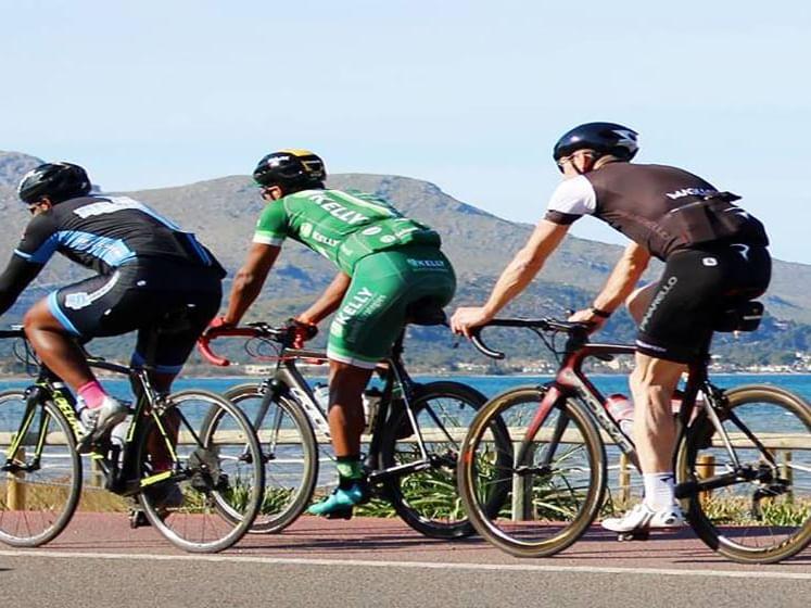 Paseo en bicicleta por Mallorca