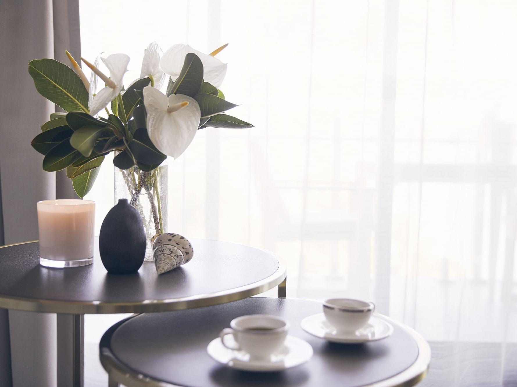 Tea served in Serenity room at Daydream Island Resort
