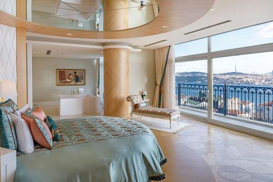 Presidential suite at CVK Park Bosphorus Hotel in Istanbul
