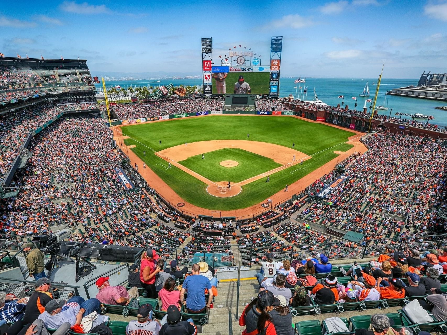 Oracle Stadium home to SF Giants