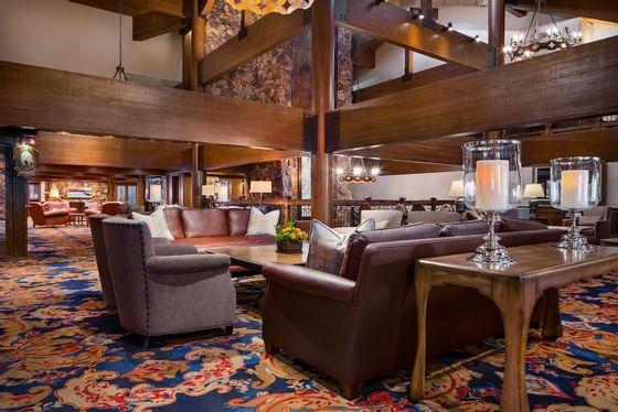 Stein Eriksen Lodge Mountain Lodge Lobby and Foyer