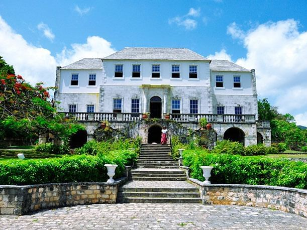 Exterior of Rosehall great house near Holiday Inn Montego Bay