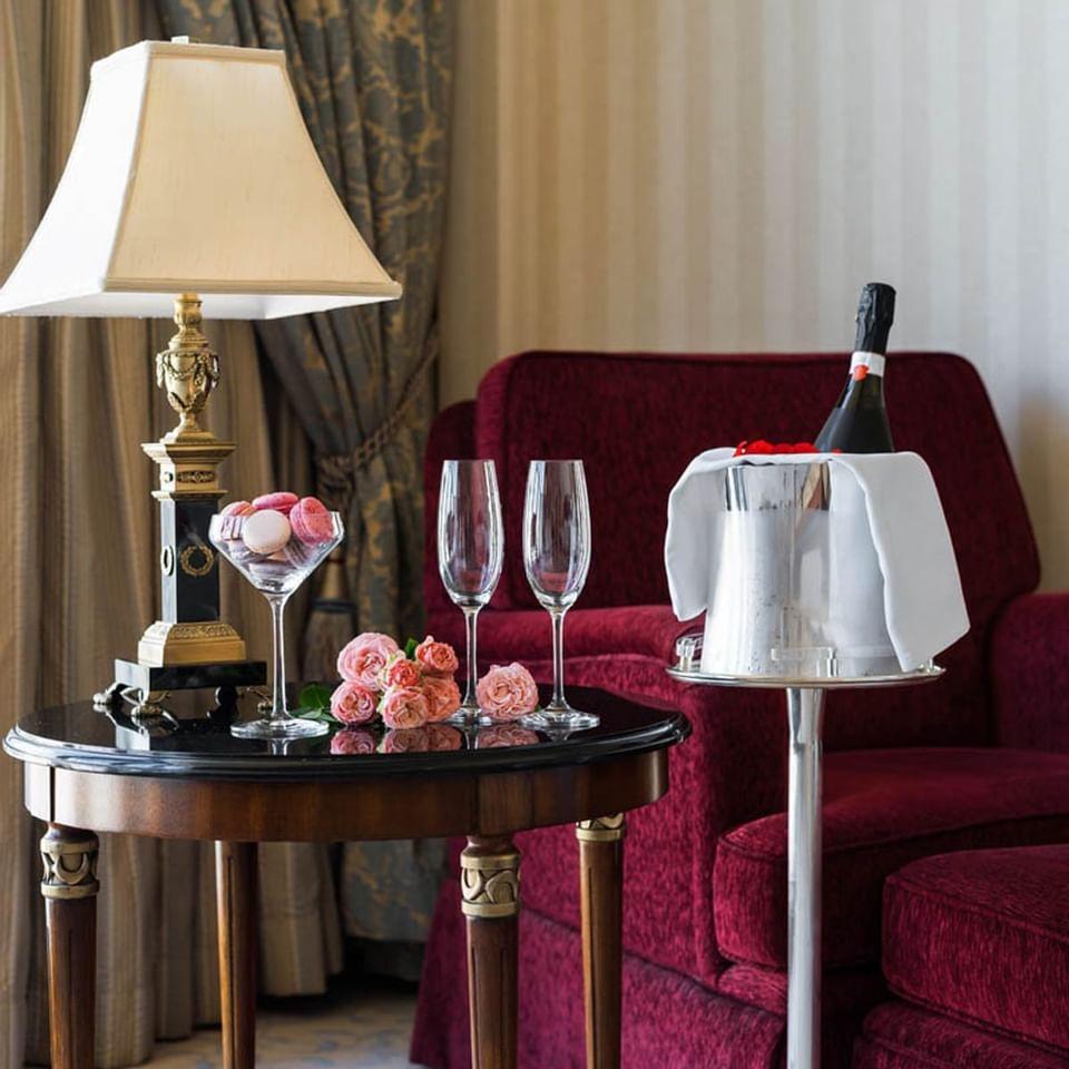 Honeymoon Suite rooms at Intercontinental Kyiv hotel