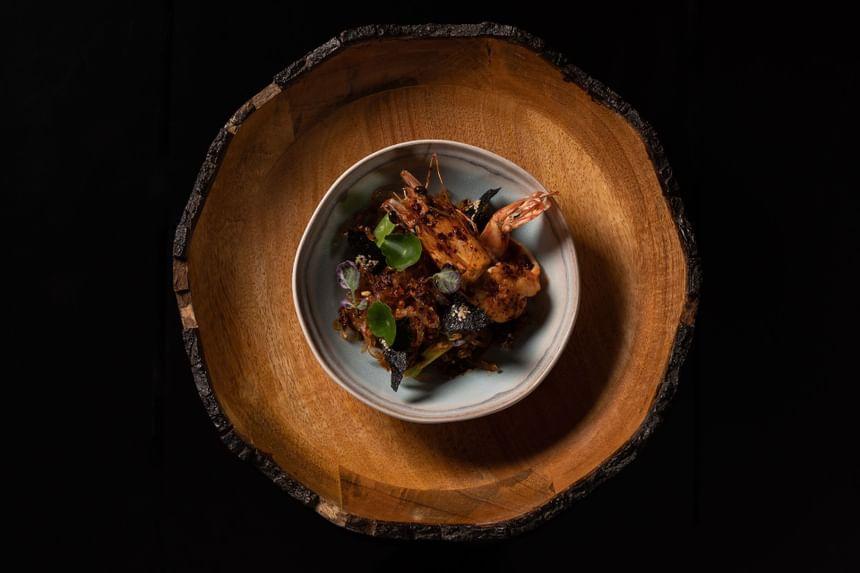 Delicious lobster dish