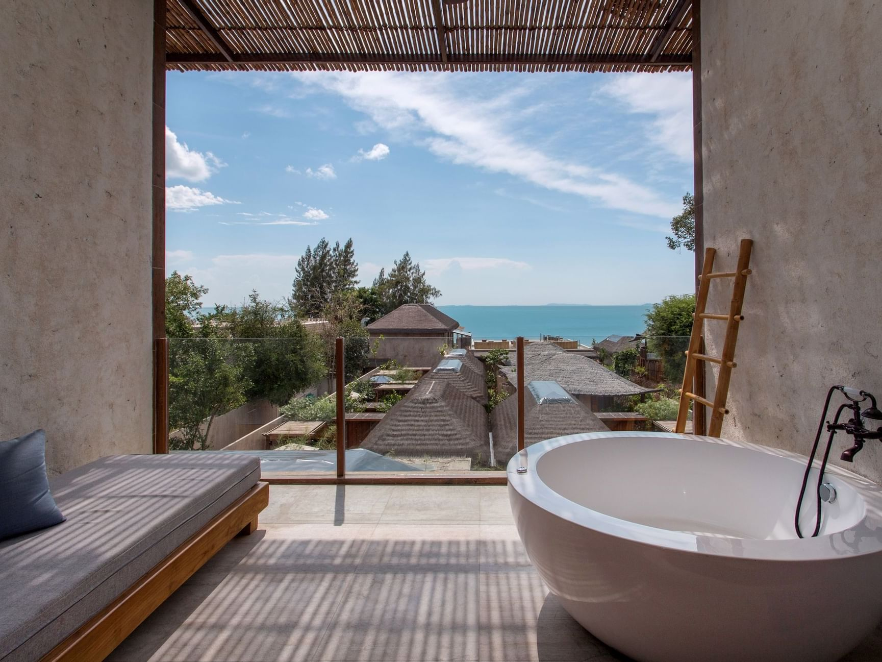 Deluxe Seaview room at U Hotels and Resorts