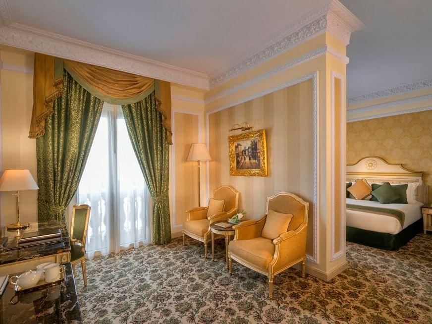 جناح بوتيك في فندق رويال روز في أبو ظبي، الإمارات العربية المتحدة
