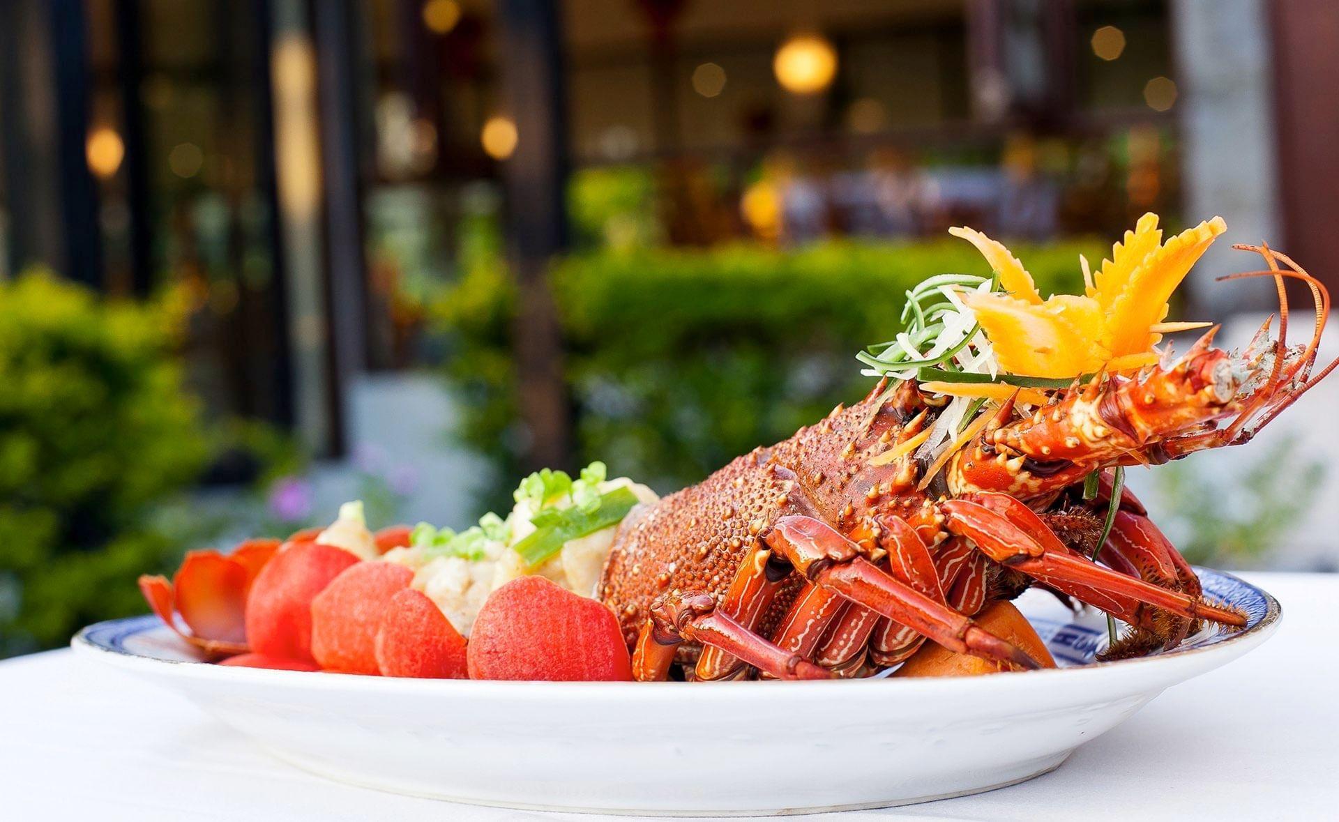 Dish at Naviti Resort