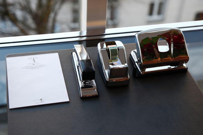 Tagungs und Konferenz Tischutensilien im Hotel München Palace