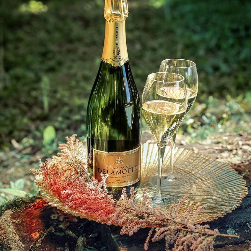 Champagne Delamotte-Santo wine tasting at the Marbella Club