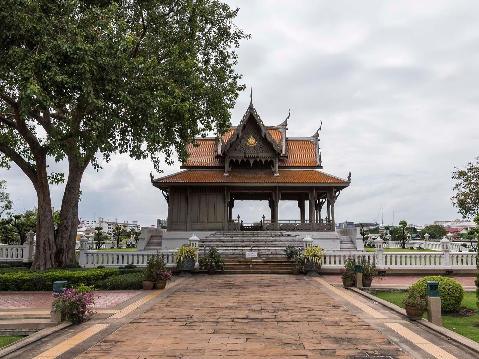 The Tha Phra Arthit near the Chatrium Hotel Riverside Bangkok