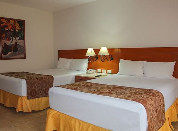 Standard Room Double Beds at Plaza Pelicanos Club Beach Resort