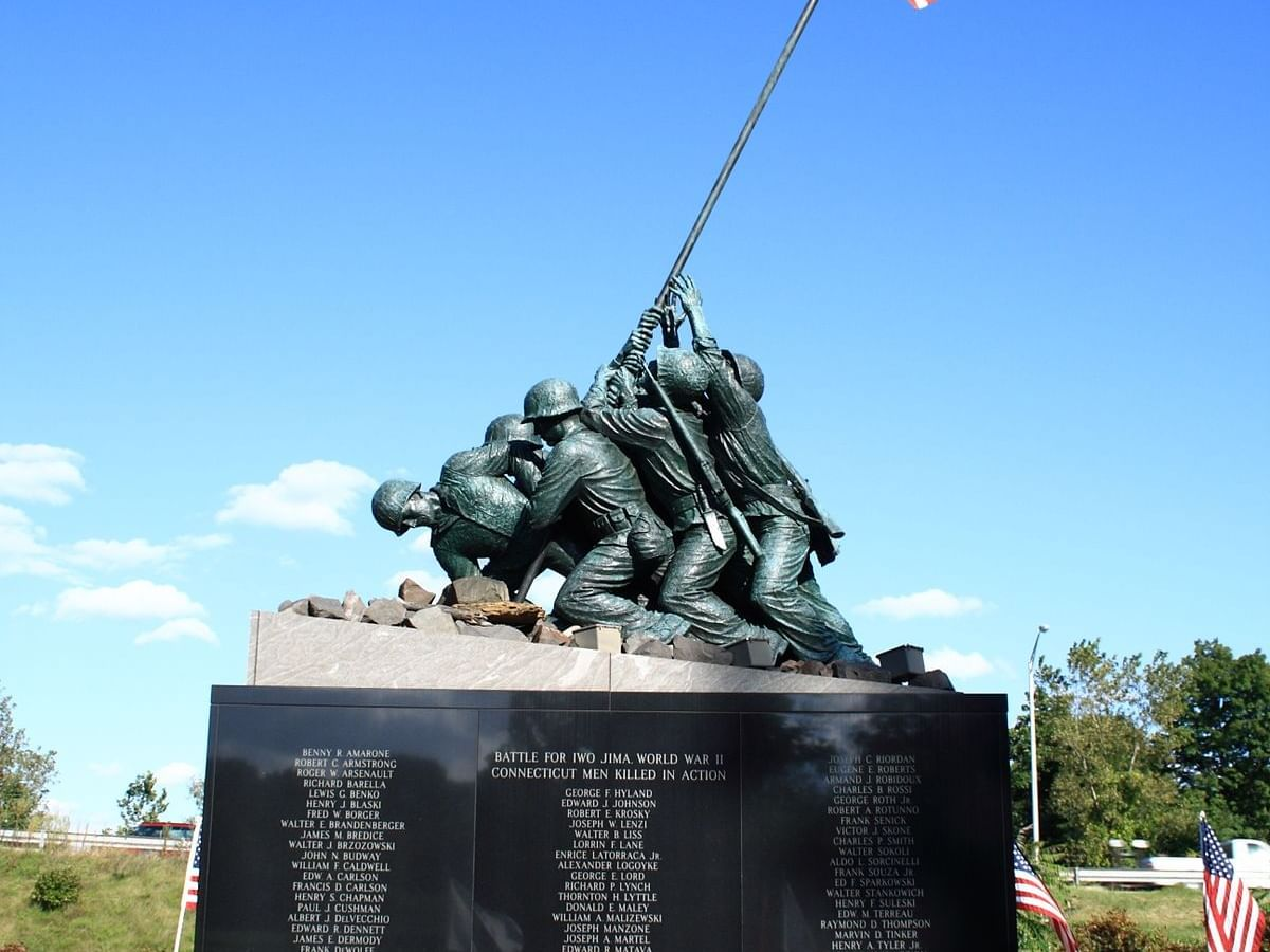 National Iwo Jima Memorial  near Avon Old Farms Hotel