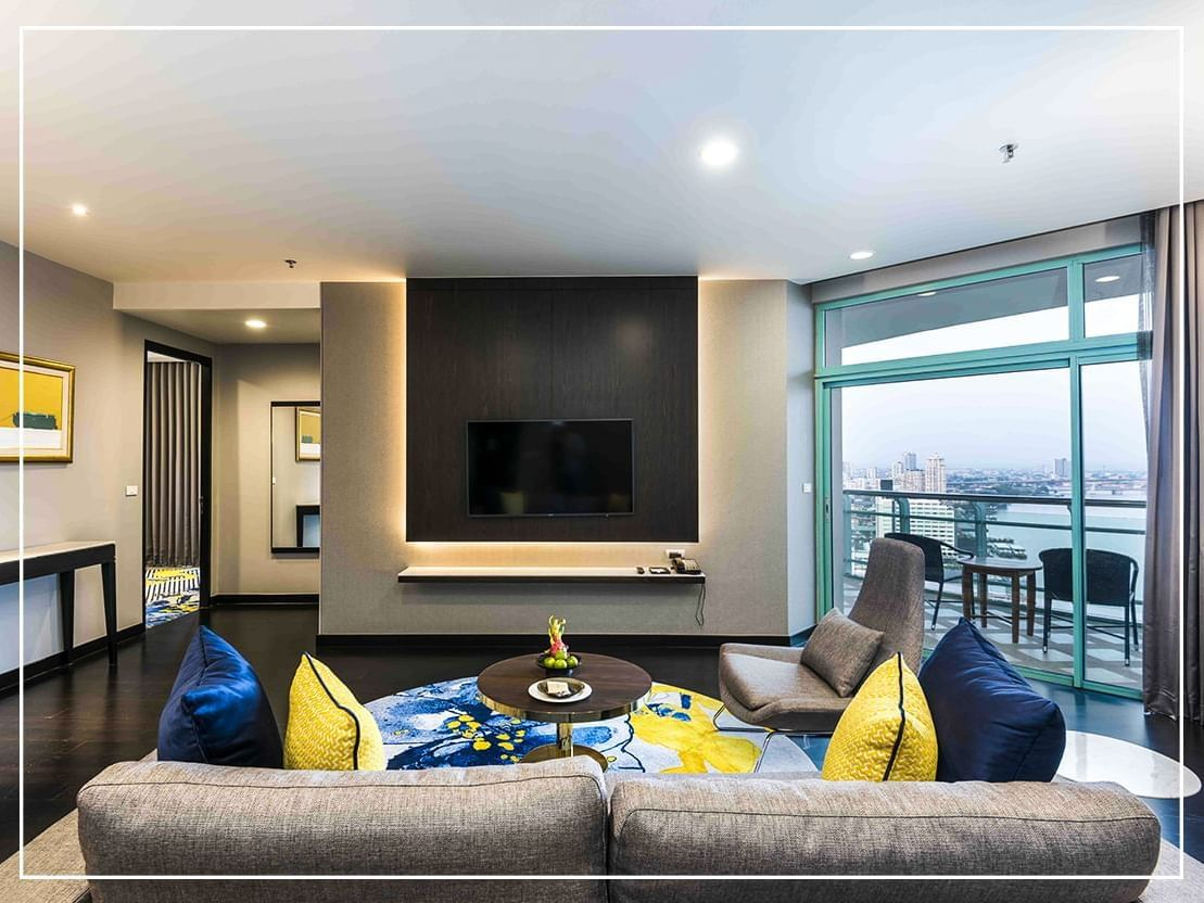 Deluxe One-Bedroom Suite at Chatrium Residence Sathon Bangkok