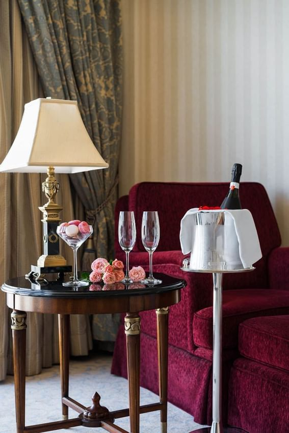 Honeymoon Suite at Intercontinental Kyiv hotel