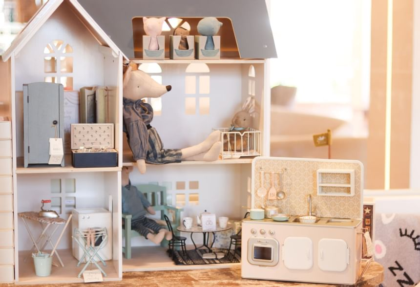 a large doll house