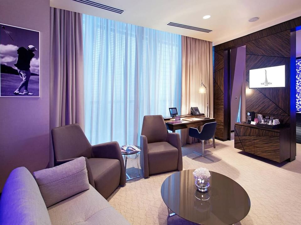Junior Suite at The Torch Doha Hotel
