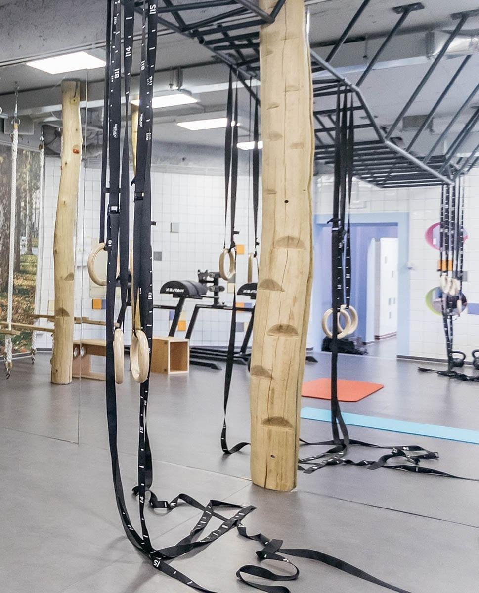 Gym at uHotel in Ljubjana