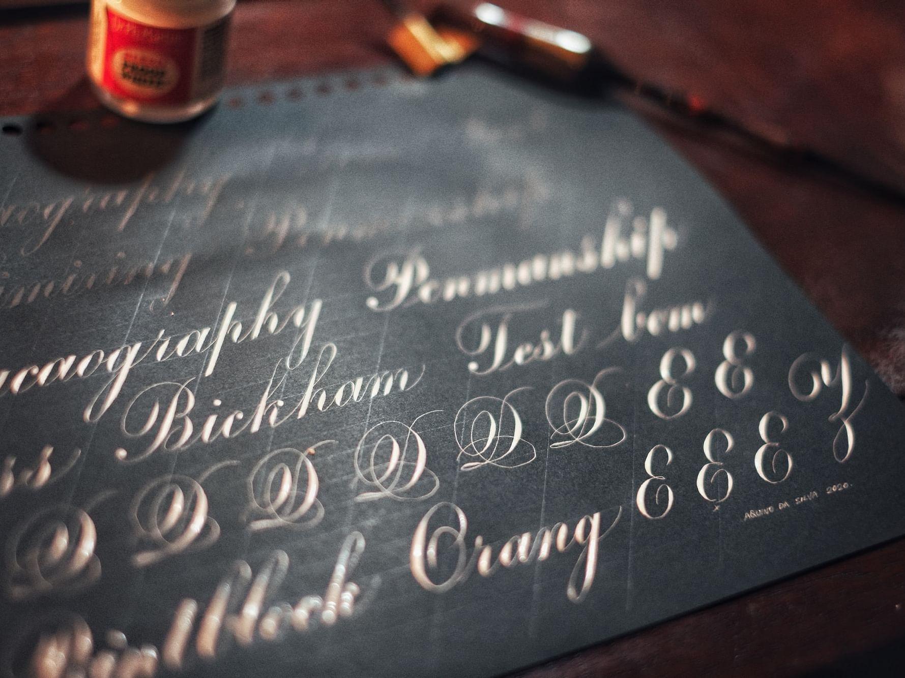 Post of Calligraphy Tasting Workshop Offer at Artyzen GrandLapa