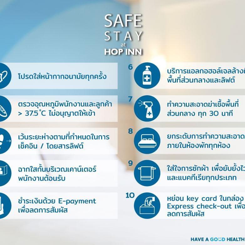 Safe Stay at HOP INN