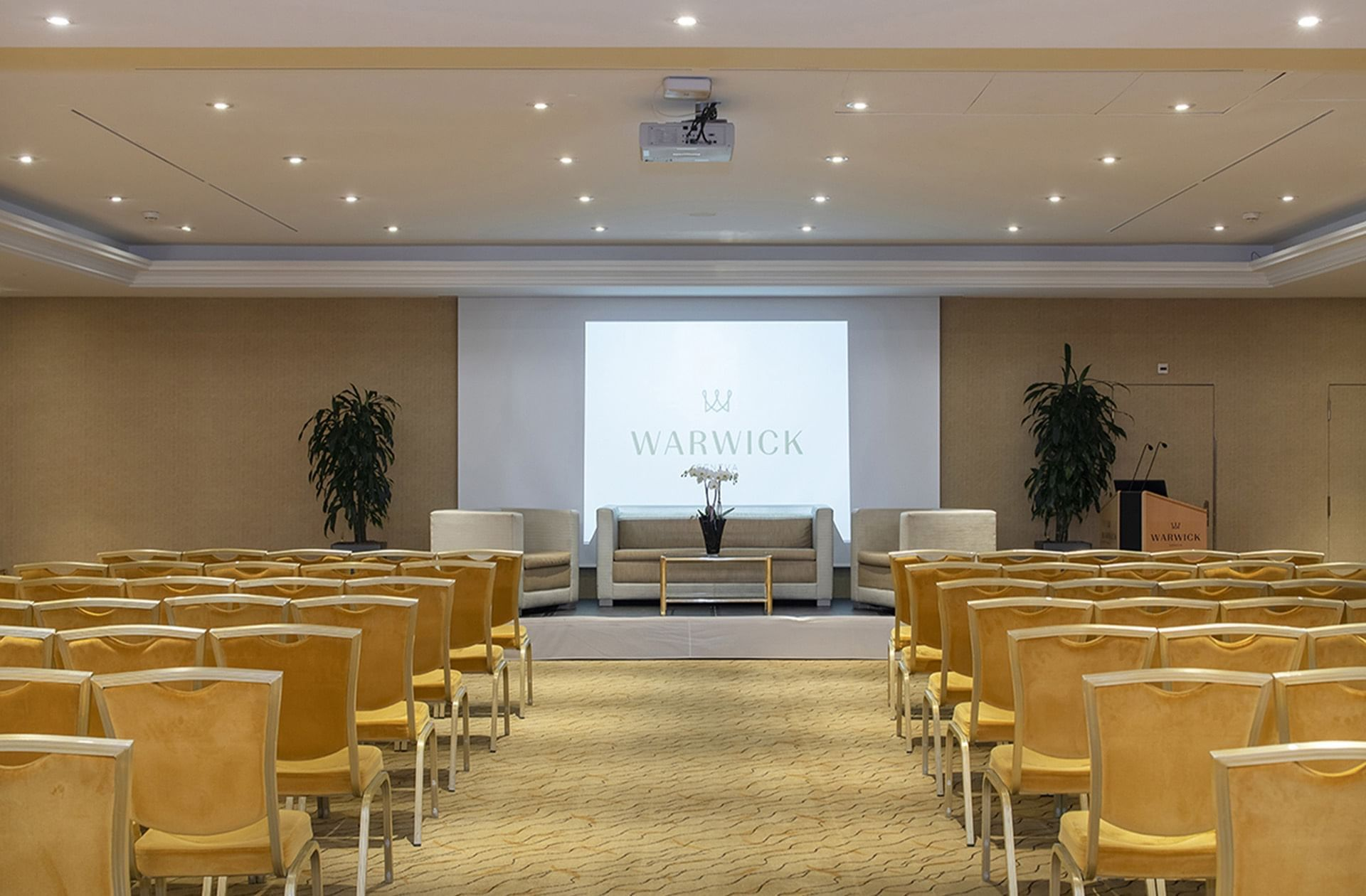 Salle de réunion Jura et Mont-Blanc au Warwick Geneva
