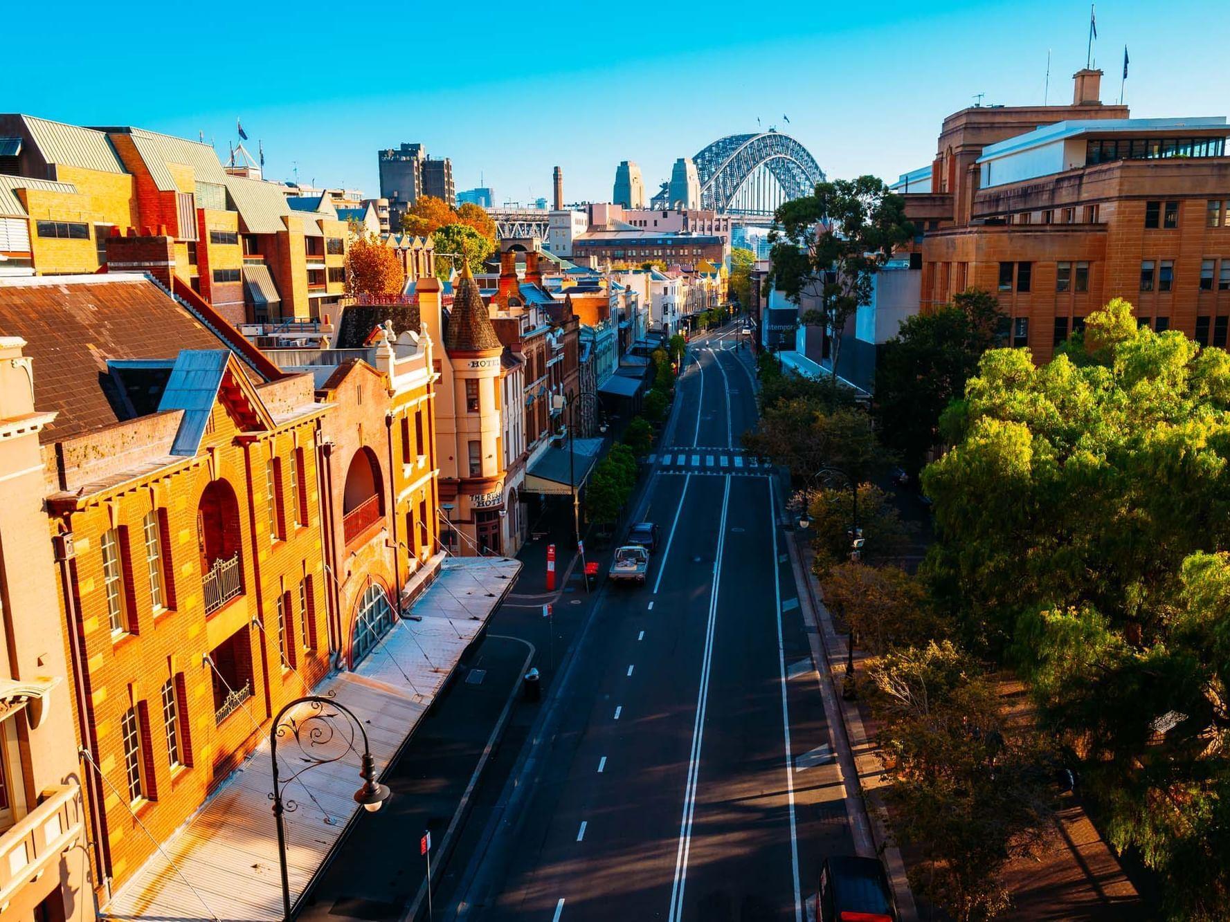 The Rocks at Sydney