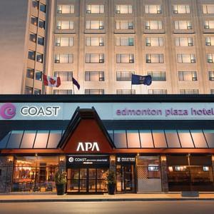Exterior of Coast Edmonton Plaza Hotel by APA