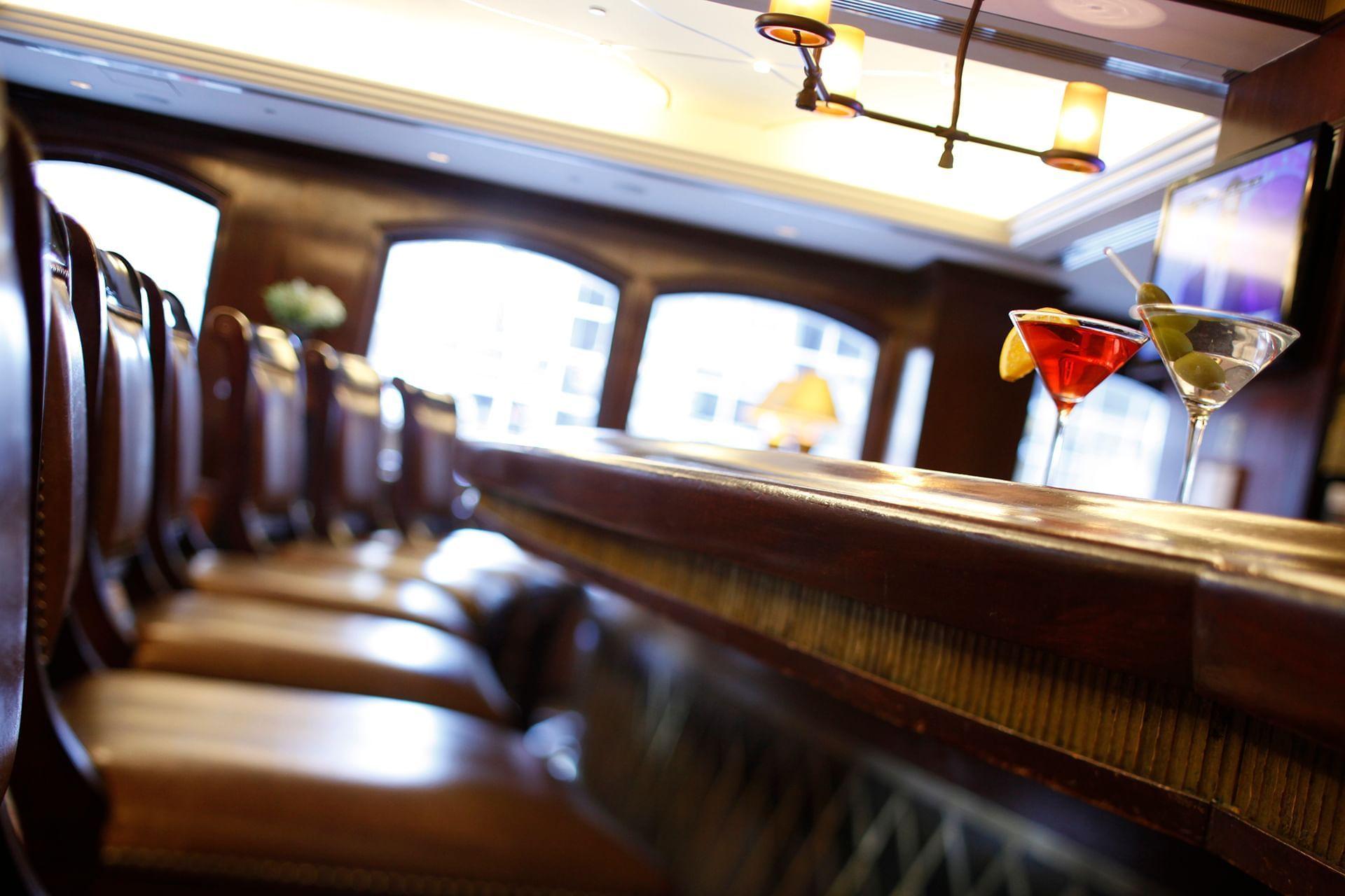 Randolph's Bar with drinks at Warwick New York
