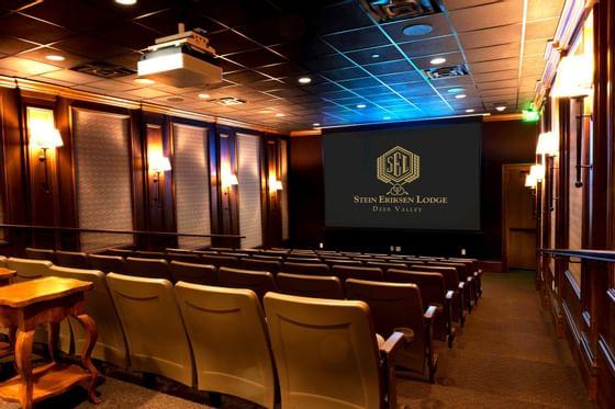 Stein Eriksen Lodge Freestyle Movie Theater