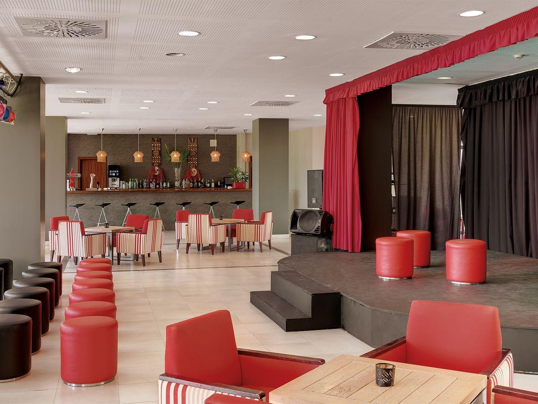 Macarella bar with theater at Precise Resort El Rompido