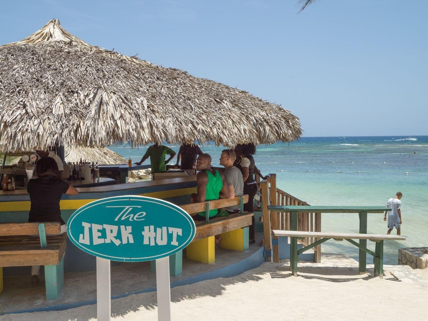 Exterior view of Jerk Hut at Holiday Inn Montego Bay