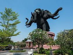 Erawan Museum near Chatrium Hotel Riverside Bangkok