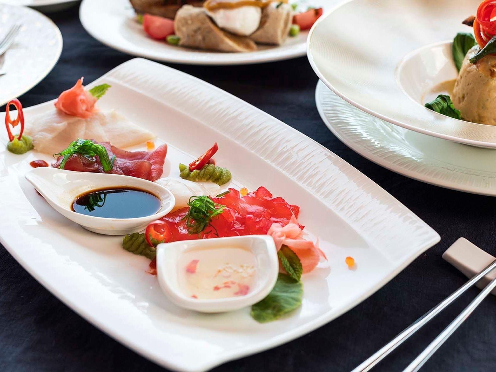 Dining options in Infinity Restaurant at Daydream Island Resort