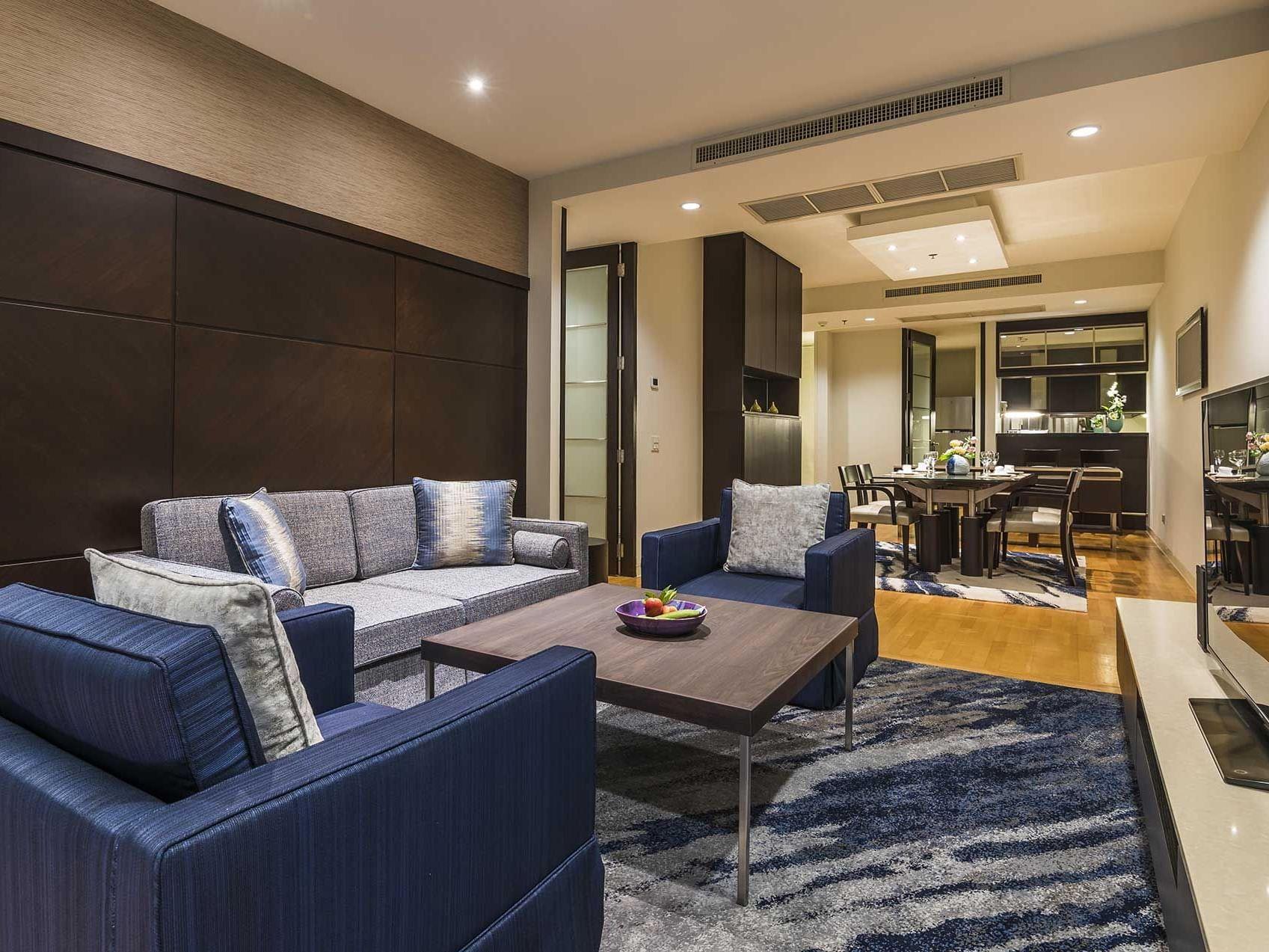 One bed Grand suite city view at Emporium suites by Chatrium