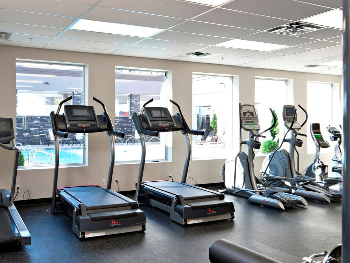 Gym and Fitness Center at Carriage House Hotel