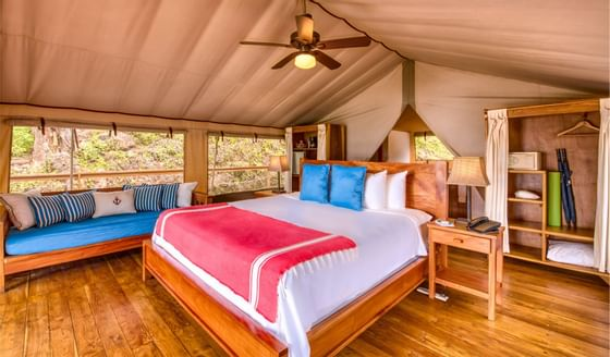 Glamping Tent King Bedding