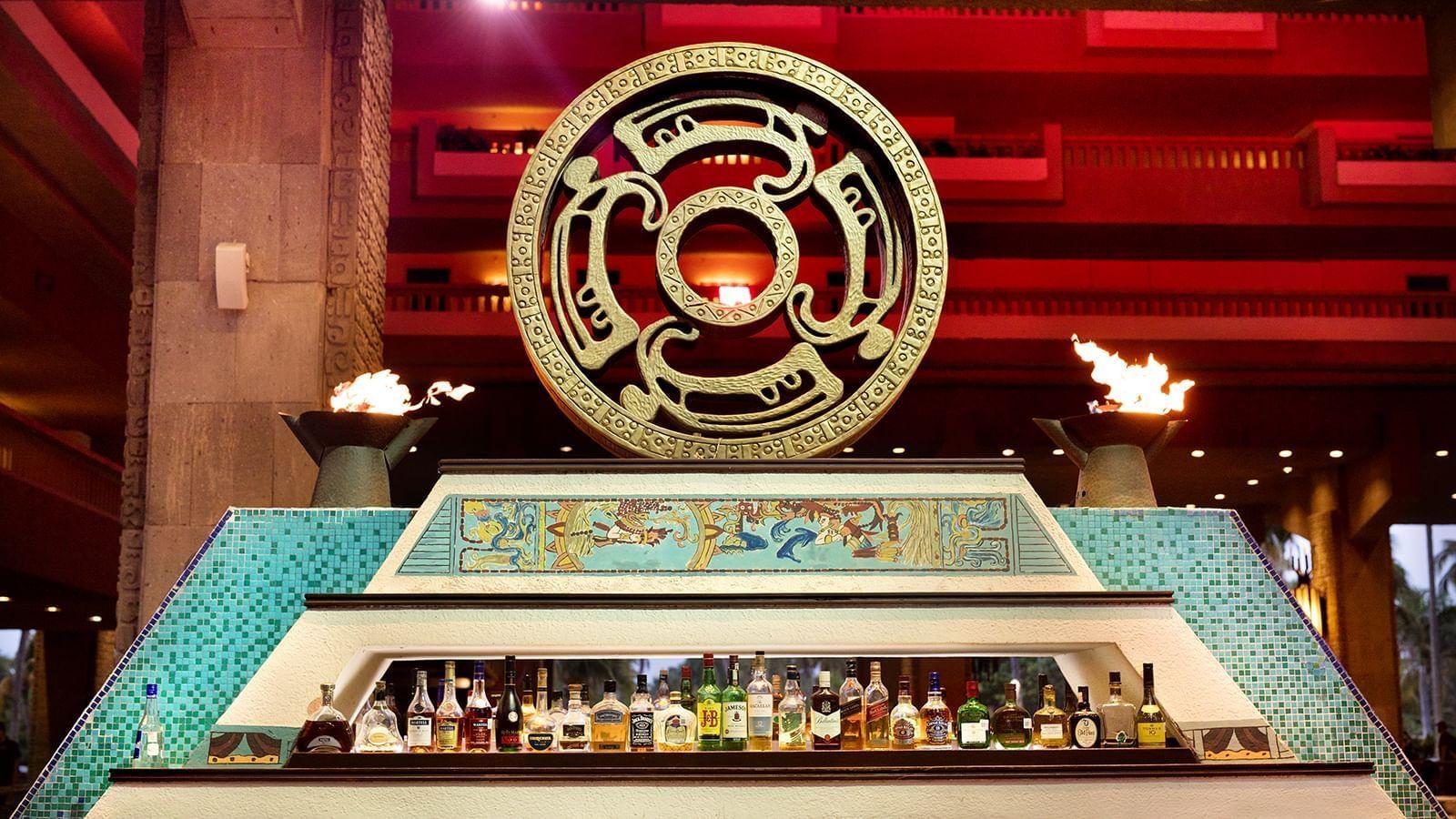 Bar area at Laguna Bar in Princess Mundo Imperial