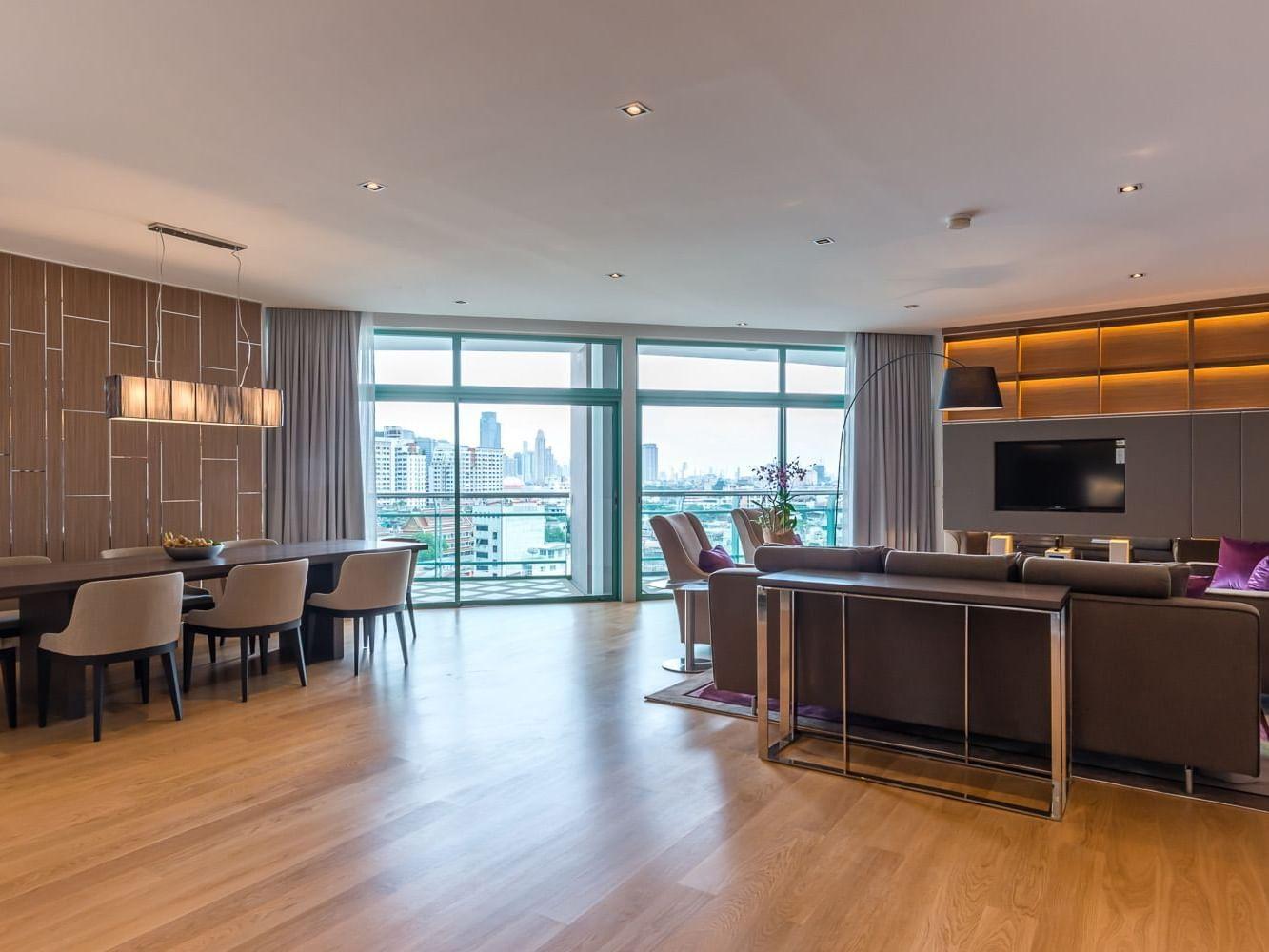 View of a room at Chatrium Hotel Riverside Bangkok