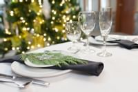 Coast Canmore Hotel & Conference Centre - Holiday Table Setting