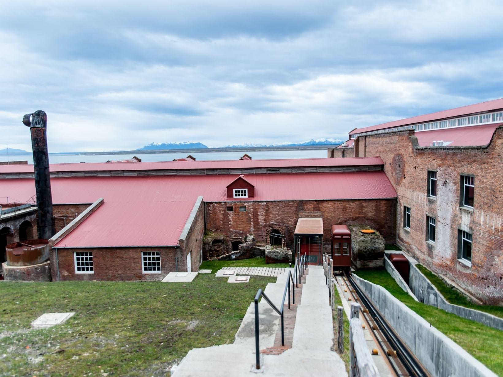 Cold storage plant tour Patagonia