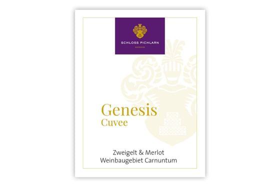 Etiketten Website Genesis Cuvee