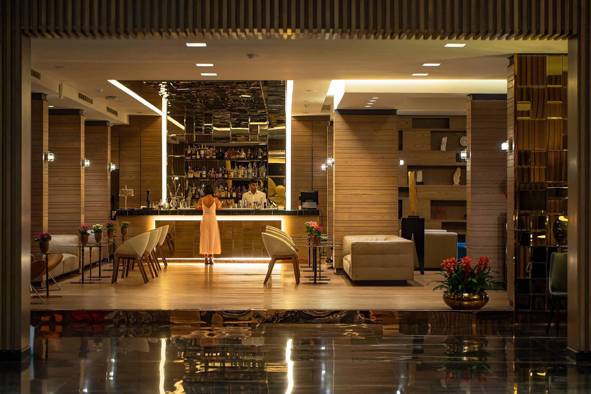 hotel Bar area at Mist hotel